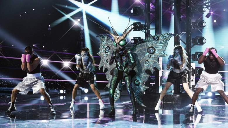 The Masked Singer Butterly