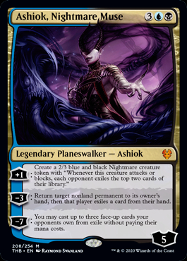 mtg ashiok Nightmare Muse