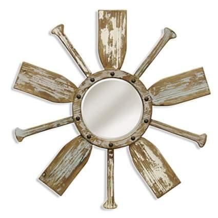 nautical sunburst mirror