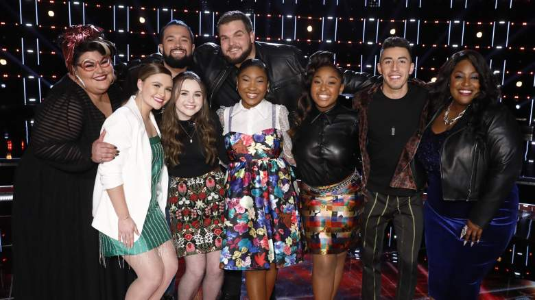 The Voice Season 17 Top 8