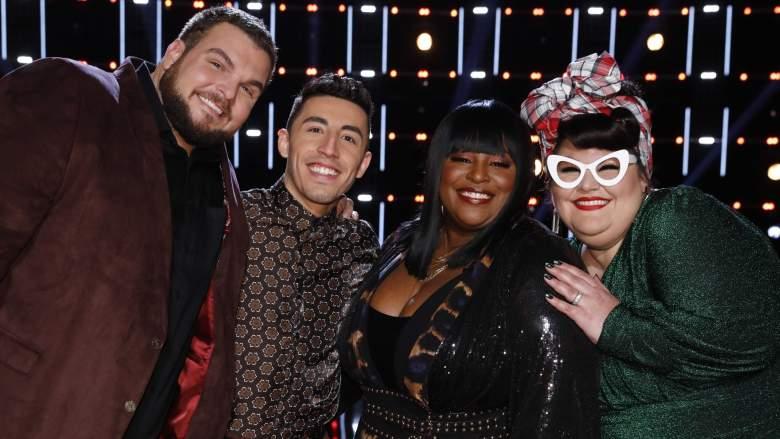 The Voice Season 17 Top 4 finalists