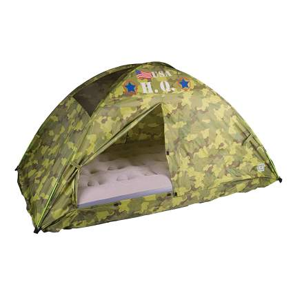 Pacific Play Tents Camouflage Kids HQ Bed Tent