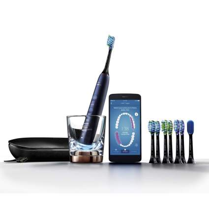 Lunar Blue Sonicare DiamondClean smart toothbrush