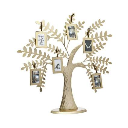 Philip Whitney Metal Family Tree Picture Frames