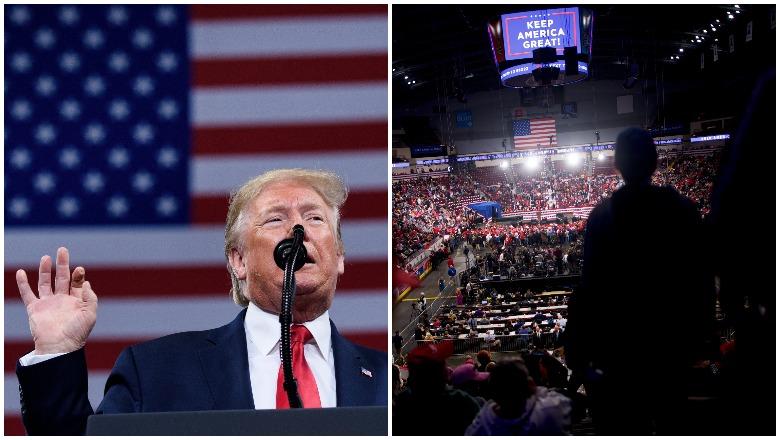 Crowd at Trump's Pennsylvania rally