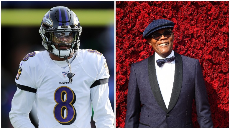 Lamar Jackson Is Not Related To Samuel L Jackson Heavy Com