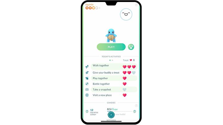 pokemon go buddy profile