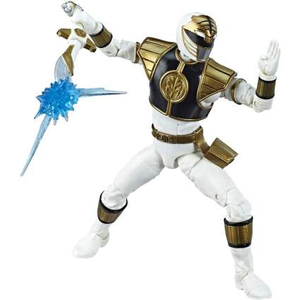 White Ranger toy