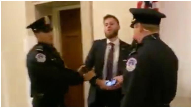 Pro-Trump Protestor Video