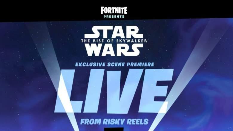 Star Wars Fortnite Event