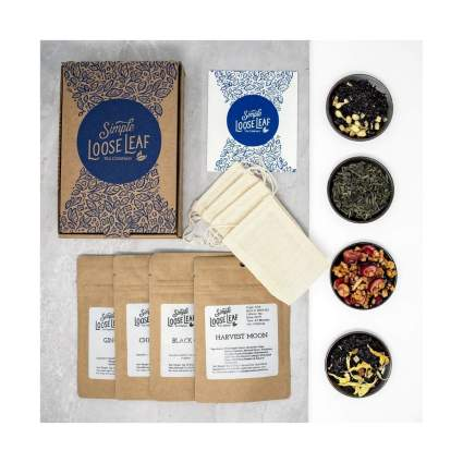 Simple Loose Leaf Tea Hand-Packaged Loose Leaf Tea Subscription Box