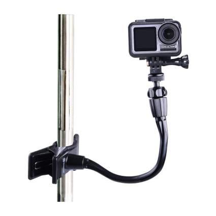 Smatree Adjustable Jaws Flex Clamp Camera Mount