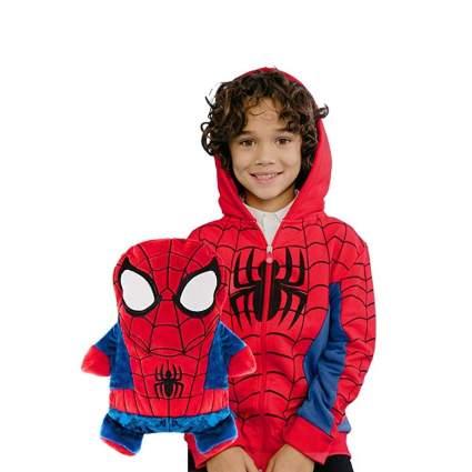 Spider-Man Transforming Plush/Hoodie