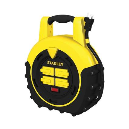 Stanley ShopMax Power Hub 20-Feet 4-Outlet Cord Reel