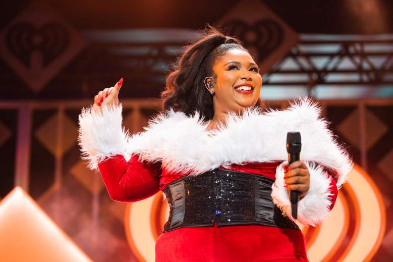 Lizzo at the iHeartRadio Jingle Ball 2019