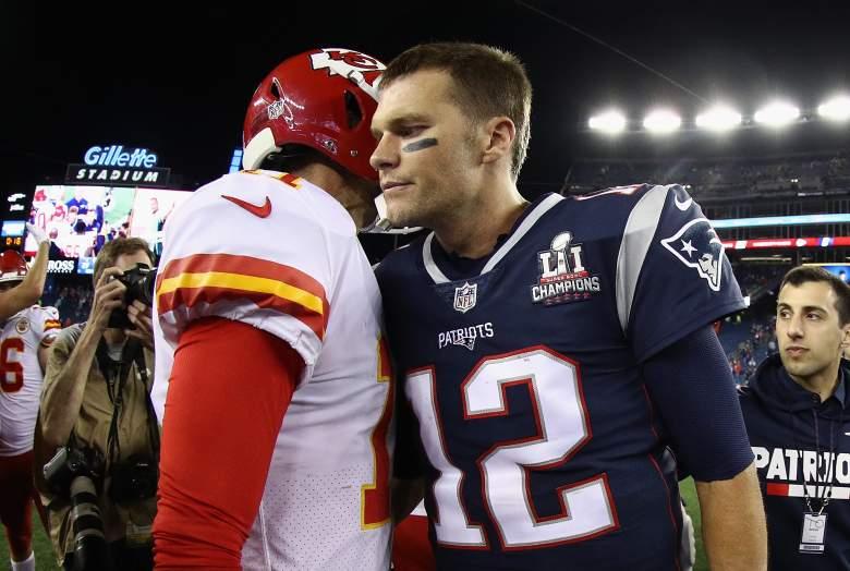 Alex Smith and Tom Brady