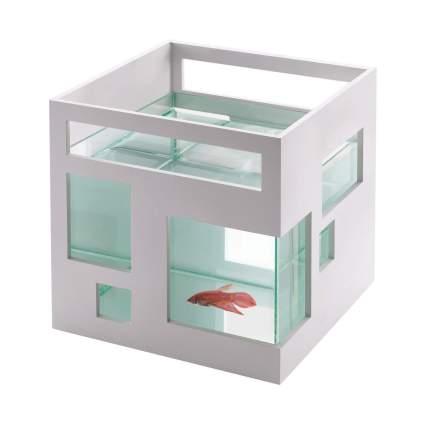 Umbra FishHotel Unique 2 Gallon Mini Aquarium