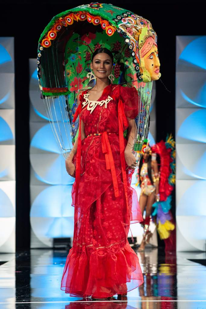 Miss Universe Bangladesh Best National Costume
