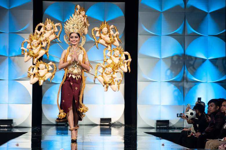 Miss Universe Cambodia Best National Costume