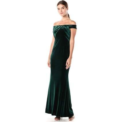 Adrianna Papell Women's Stretch Velvet Dress