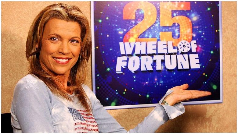 Vanna White Host Wheel of Fortune