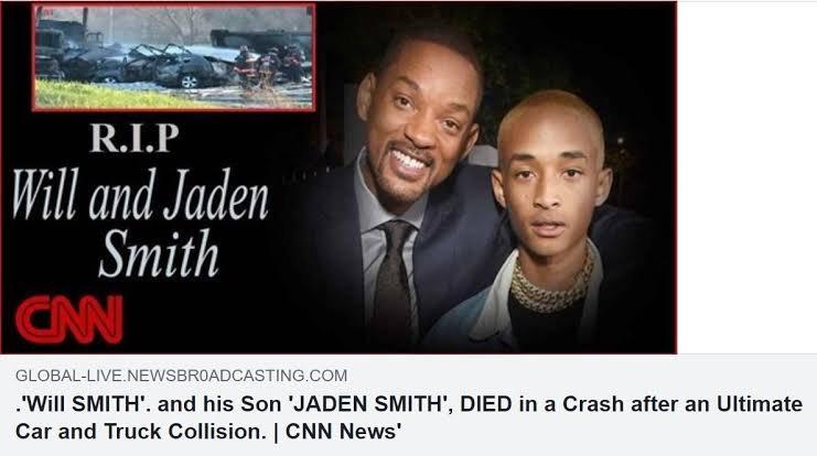 will smith jaden smith death hoax
