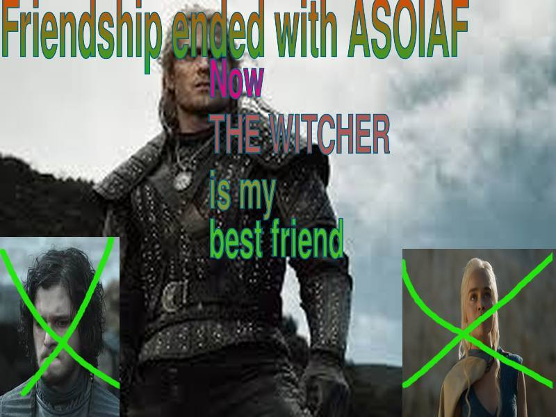 The Witcher Vs Game Of Thrones All The Best Memes Heavy Com
