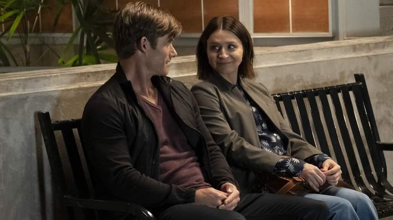Grey's Anatomy Chris Carmack, Caterina Scorsone