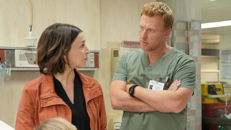 Kevin McKidd Caterina Scorsone Greys Anatomy