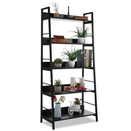 5 Shelf Ladder Bookcase