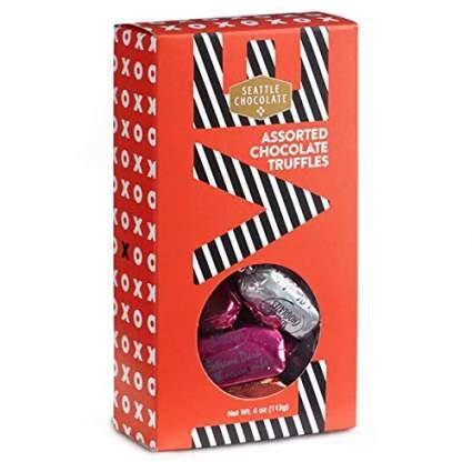 Seattle Chocolate Valentine's Day Truffle Gift Box