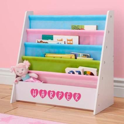 DIBSIES Personalized Kids Bookshelf