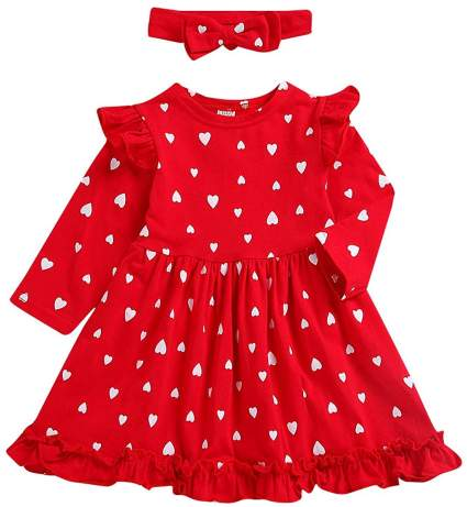Toddler Little Girls Valentine's Day Outfit
