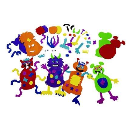 Colorations Foam Monster Making Kit for Kids
