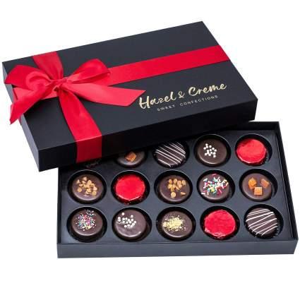 Hazel & Creme Chocolate Cookies Gift Box