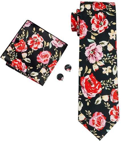 Handkerchief Cufflinks Set