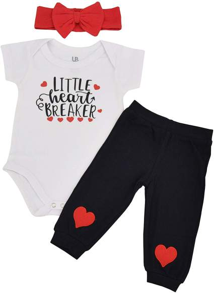 Girl Little Heartbreaker Valentine's Day Outfit