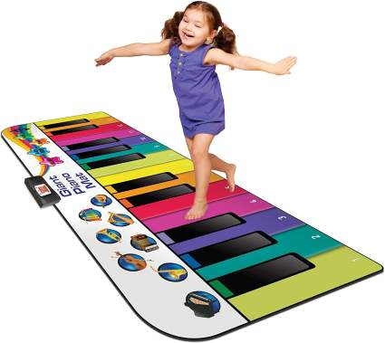 Kidzlane Floor Piano Mat: Jumbo 6 Foot Musical Keyboard Playmat