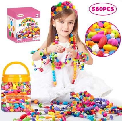 DIY Jewelry Making Kit- Kids Snap Beads