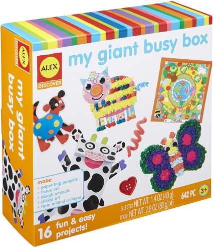 My Giant Busy Box Craft Kit