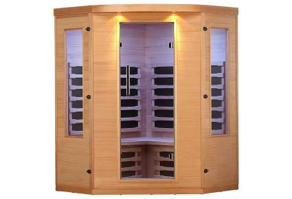 ALEKO Indoor Canadian Hemlock Infrared Sauna