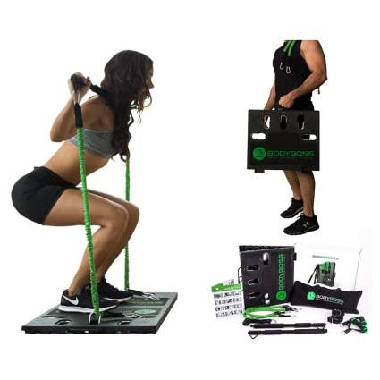 portable home gym set