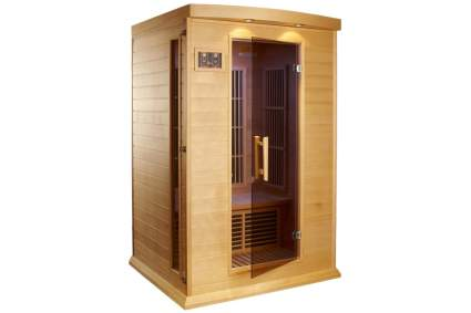 Maxxus Saunas Canadian Red Cedar 2-Person Carbon Far Infrared Sauna