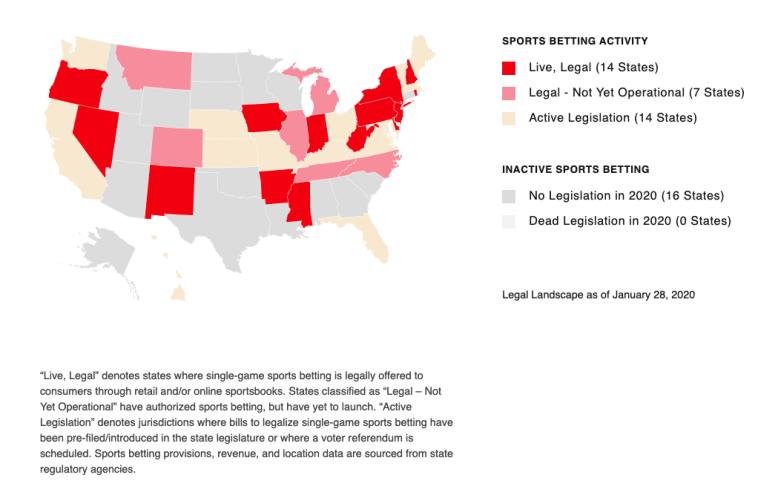 AGA legalization map