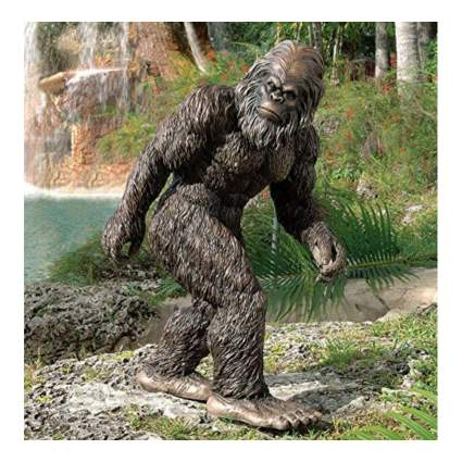 bigfoot garden sculpture