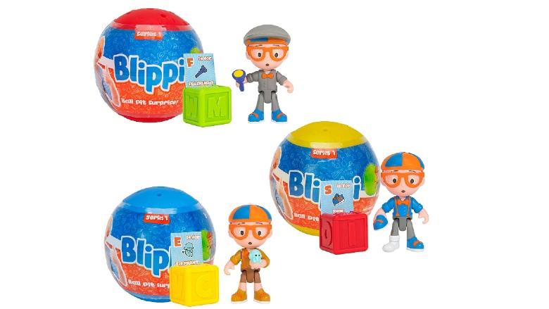 Blippi Ball Pit Surprise 3 Pack