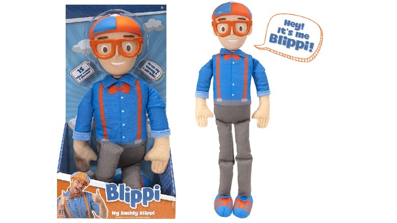 Blippi - My Buddy Feature Plush with Sounds