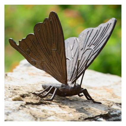 butterfly garden sculpture