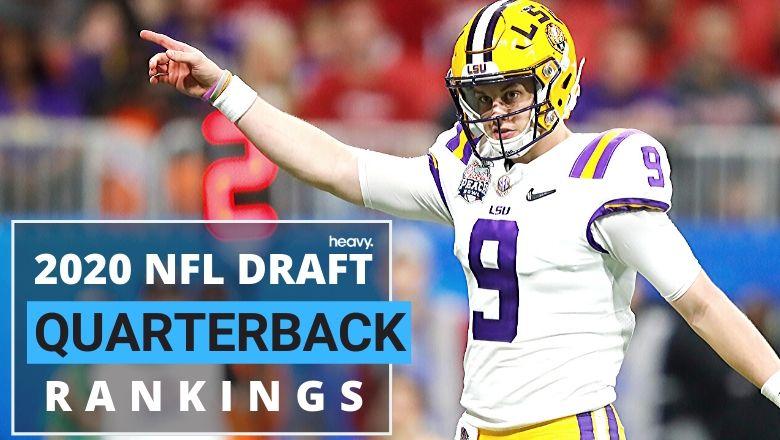 2020 NFL Draft Quarterback Rankings