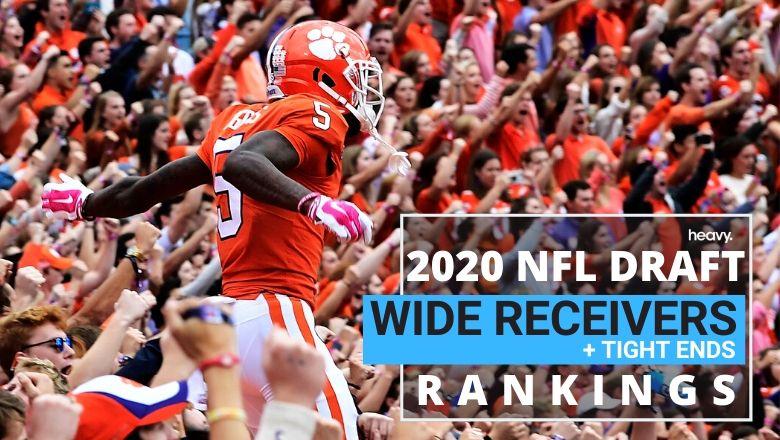 2020 NFL Draft Wide Receiver Rankings: Clemson's Tee Higgins